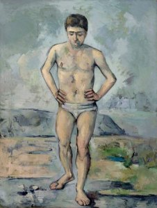 Cezanne, The Bather, 1886