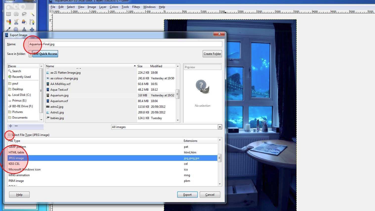 How to open or convert Gimp .XCF file into Photoshop .PSD ...