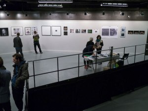 Some of the exhibition space.