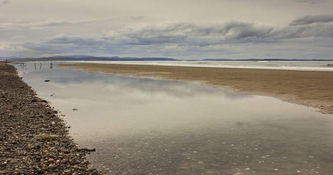 Findhorn Beach - Canon 28mm