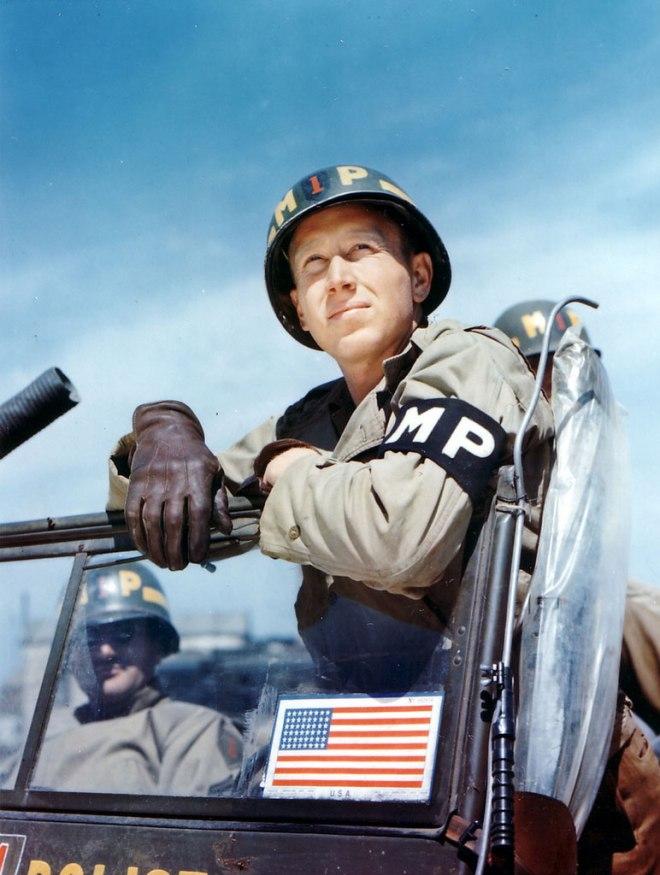 US Military Policeman