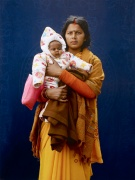 Mamta Dubey and infant by Giles Price