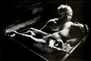 W E Smith, Tomoko Uemura in Her Bath, 1971